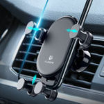 New Floveme Gravity Linkage Automatic Lock Car Mount Air Vent Holder for Samsung Xiaomi Mobile Phone