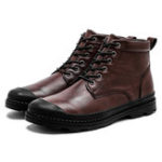 New Men Soft Casual Ankle Boots