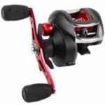 New ZANLURE LA200 8.1:1 12+1BB Fishing Reel Left/Right Hand Max Drag 20LB Baitcasting Wheel