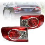 New Car Red Rear Tail Light Brake Lamp Pair for Toyota Corolla 2011-2013 TO2804111