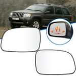 New Car Left/Right Anti-fog Heated Rearview Mirror Glass for Jeep Grand Cherokee 1999-2004