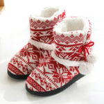 New Women's Soft Plush Warm Indoor Home Slipper Boots Shoes