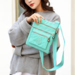 New Women Solid Waterproof Bag Casual Crossbody Bag Shoulder Bag