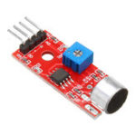 New 10pcs KY-037 4pin Voice Sound Detection Sensor Module Microphone Transmitter Smart Robot Car for Arduino