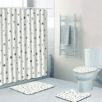 New Waterproof Bathroom Bath Shower Curtain Bathroom Simply Pattern Shower Curtain Bathroom Curtains