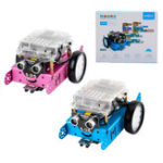 New Makeblock mBot v1.1 STEM Educational Programmable Bluetooth Connect Robot Car Kit with Blue/Pink