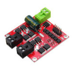New XY-160D 7A 160W L298  PWM Speed Controller Dual DC Motor Drive Module Industrial Grade