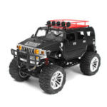 New HG P403 1/10 2.4G 4WD 20km/h Black Color Rc Car Rock Crawler Off-road Truck RTR Toy