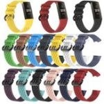 New Bakeey Pure Color Silicone Smart Watch Band for Fitbit Charge 3 Smart Watch