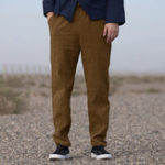 New Mens Jacquard Cotton Breathable Brief Casual Pants