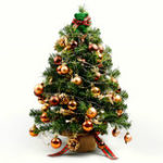 New Xiaomi DIY Christmas Tree Decoration Set Detachable Ornaments LED Light Gift Box Home Festival Decor