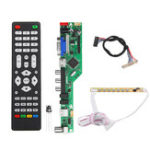 New T.RD8503.03 Universal LED TV Controller LCD Driver Board 1ch 6bit 30Pins