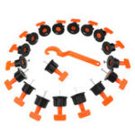 New 51pcs Plastic T Wall Floor Ceramic Leveler Tools Tile Leveling System Kits For Tile Spacers