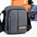 New Men Nylon Casual Crossbody Bag Multi-pocket Shoulder Bag