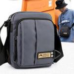 New Men Nylon Casual Crossbody Bag Multi-pocket Shoulder Bag