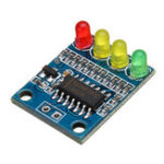 New 3pcs FXD-82B 12V Battery Indicator Board Module Load 4 Digit Electricity Indication With LED Lamp