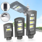 New 20W 40W 60W Solar Powered PIR Motion Sensor Street Lamp Outdoor Garden Yard Light