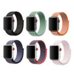 New KALOAD 42mm 6 Colors Loopback Nylon Smart Watch Band Bracelet Straps Replacement For Apple Watch 1/2/3/4