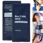 New 200ml Soft Reusable Hot Cold Therapy Gel Pad Ice Cooling Heating Pads Pain Relief Sport Compress