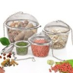 New Stainless Steel Ball Shape Tea Filter Spice Seasoning Bag Mesh Basket Infuser Tea Strainer
