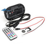 New Car Bluetooth Subwoofer HiFi Bass Amplifier Board For Home MP3 Audio with Remote Control