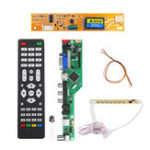 New T.RD8503.03 Universal LCD LED TV Controller Driver Board TV/PC/VGA/HDMI/USB+7 Key Button+1pc Lamp Inverter