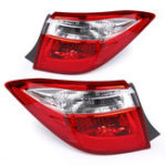 New Car Left/ Right Rear Tail Light Brake Lamp With No Bulb Red for Toyota Corolla 2014-2016
