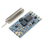 New Geekcreit® HC-12 433 SI4463 Wireless Serial Module Remote 1000M With Antenna