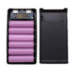 New 18650 Power Bank Box LCD Screen 6 Batteries Type-c Power Box Motherboard Portable Battery Charger