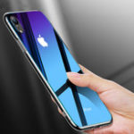 New Cafele Gradient Tempered Glass Protective Case For iPhone X/XR/XS/XS Max Scratch Resistant Back Cover