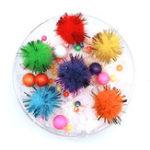 New 100ML Slime Brushed Cotton Mud Christmas Balls Silk Mud Plasticine Clay Toys