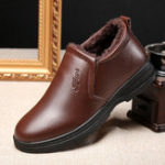 New Casual Warm Leather Boots