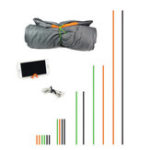 New IPRee® 16Pcs/set Outdoor Tent Tie Rope Silicone Rubber Binding Cord Camping Picnic