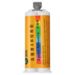 New 50ml Clear Epoxy Resin AB Adhesive Ceramic Wood Mable Glass Bonding Fast Drying High Strength Glue