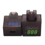 New BIKIGHT 36V/48V/60V/72V/84V/120V Electric Car Mobile Phone USB Charger 5V 2A With Voltage Display