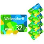 New Wellendorff 4GB 8GB 16GB 32GB 64GB Class 10 High Speed TF Memory Card for Mobile Phone Tablet PC