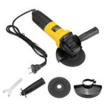 New AC220V 880W Electric Angle Grinder Heavy Duty Sanding Cutting Grinding Machine Tool 115mm
