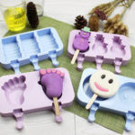 New Boxed Silicone Cake Ice Mold Bear Claw Baking Mold Dust Cover Ice Cream Cake Mould