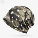 New Women Cotton Multi-purpose Camouflage Beanie Hat Scarf