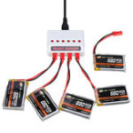 New XF POWER 3.7V 680mAh 30C 1S Lipo Battery JST Plug with Battery Charger