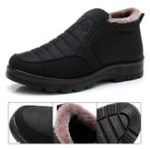 New Elastic Warm Lining Snow Boots