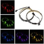 New 2PCS 50CM SMD5050 Waterproof RGB LED Strip Light for PC Computer DC12V