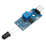 New 5pcs LM393 3 Pin IR Flame Detection Sensor Module Fire Detector Infrared Receiver Module For Arduino