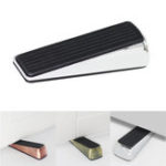 New IPRee® Silicone Door Stopper Automatic Installation Blocking System Zinc Alloy Camping Travel Portable Shaped Stopper