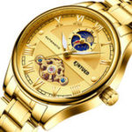 New KINYUED JYD-J032 Luminous Automatic Mechanical Watch