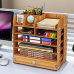 New Portable Professional Cosmetic Case Jewelry Storage Wooden Box Multifunctional Home Office Container