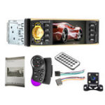 New 4019B 4 Inch 1080P Car Bluetooth MP5 Player Hands Free Calling SD Card U Disk with Rear Camera