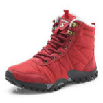 New Women Casual Outdoor Shoes Winter Fur Warm Snow Boots