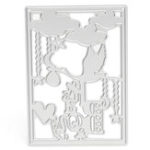 New Cloud Heart Metal Scrapbook Photo Album Paper Work DIY Cutting Dies