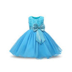 New Flower Toddler Girls Kids Wedding Formal Princess Dress